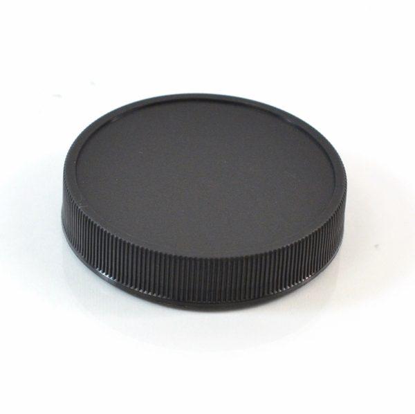 Plastic Cap 58-400 RM Black Ribbed_2885
