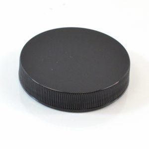 Plastic Cap 58-400 RS Black Ribbed_2884