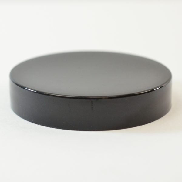 Plastic Cap 58mm Smooth Black_2749