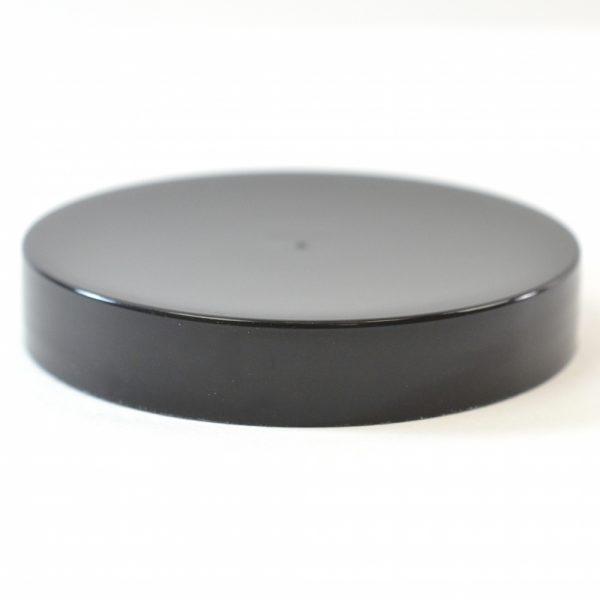 Plastic Cap 63mm Smooth Black_2751