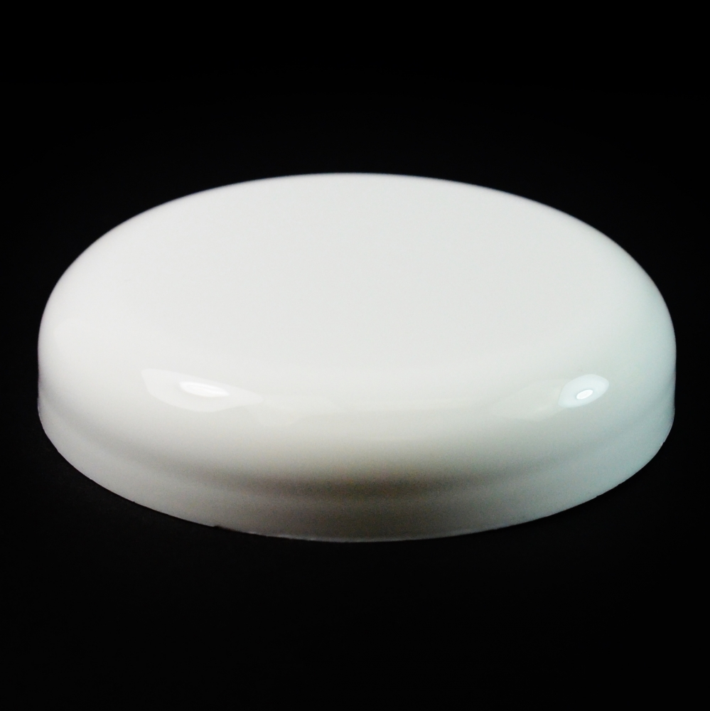 70/400 White Dome PP Unlined Cap