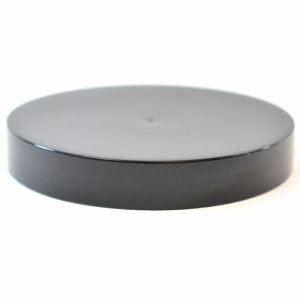 Plastic Cap 70mm Smooth Black_2754