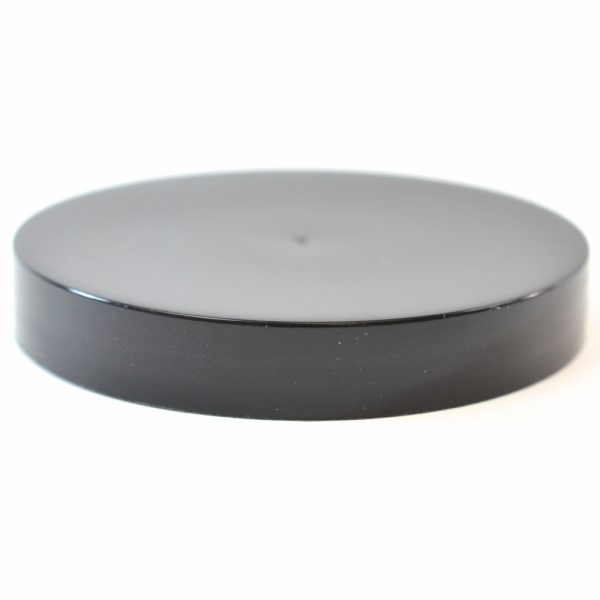 Plastic Cap 70mm Smooth Black_2755