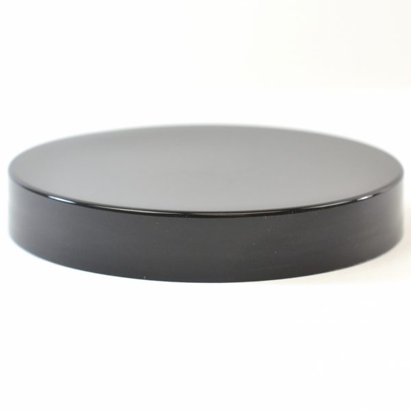 Plastic Cap 89mm Smooth Black_2761