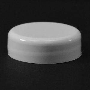 Plastic Cap CT Smooth Dome White PP 33-400 DD_2594