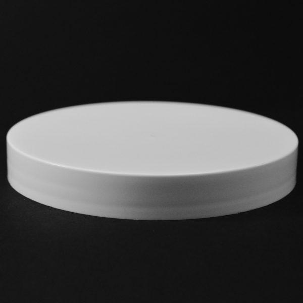Plastic Cap CT Smooth White PP 110-400 S_2703