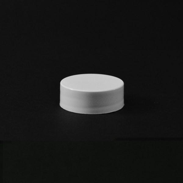 Plastic Cap CT Smooth White PP 24-400 S (1)_2656