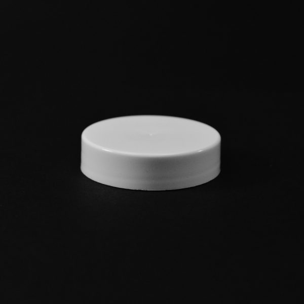Plastic Cap CT Smooth White PP 43-400 S_2672