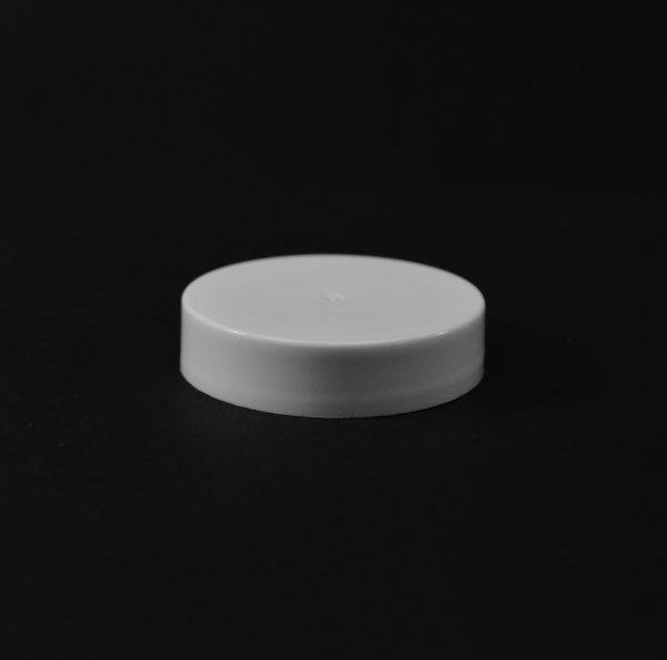Plastic Cap CT Smooth White PP 45-400 S_2675