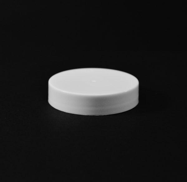 Plastic Cap CT Smooth White PP 48-400 S_2678