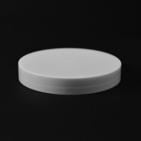 Plastic Cap CT Smooth White PP 70-400 S_2691