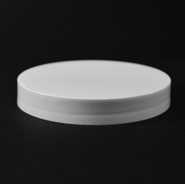 Plastic Cap CT Smooth White PP 89-400 S_2697