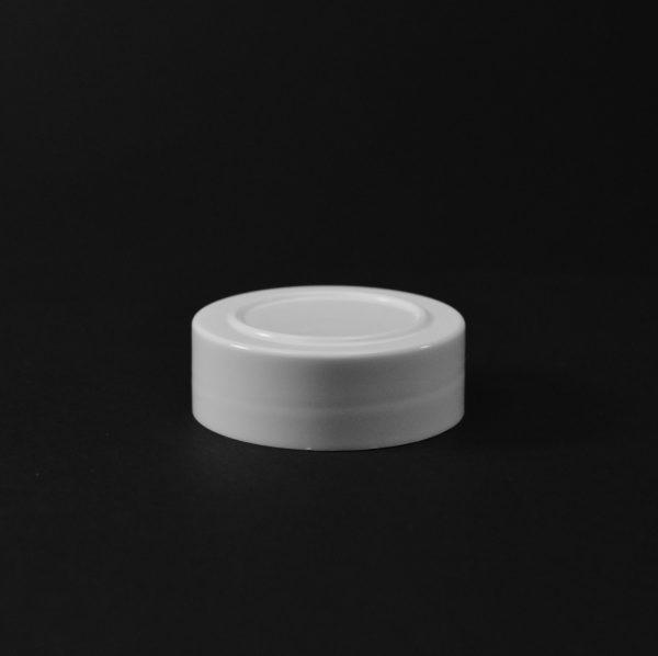 Plastic Spice Cap CT Smooth White PP 48-485 SI_2635
