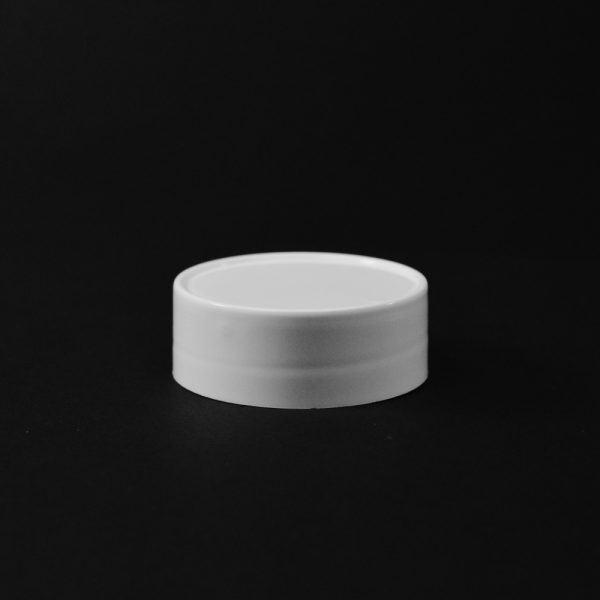 Plastic Spice Cap CT Smooth White PP 48-485 SO_2636