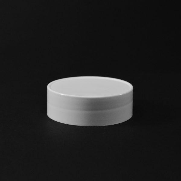 Plastic Spice Cap CT Smooth White PP 53-485 SO_2638