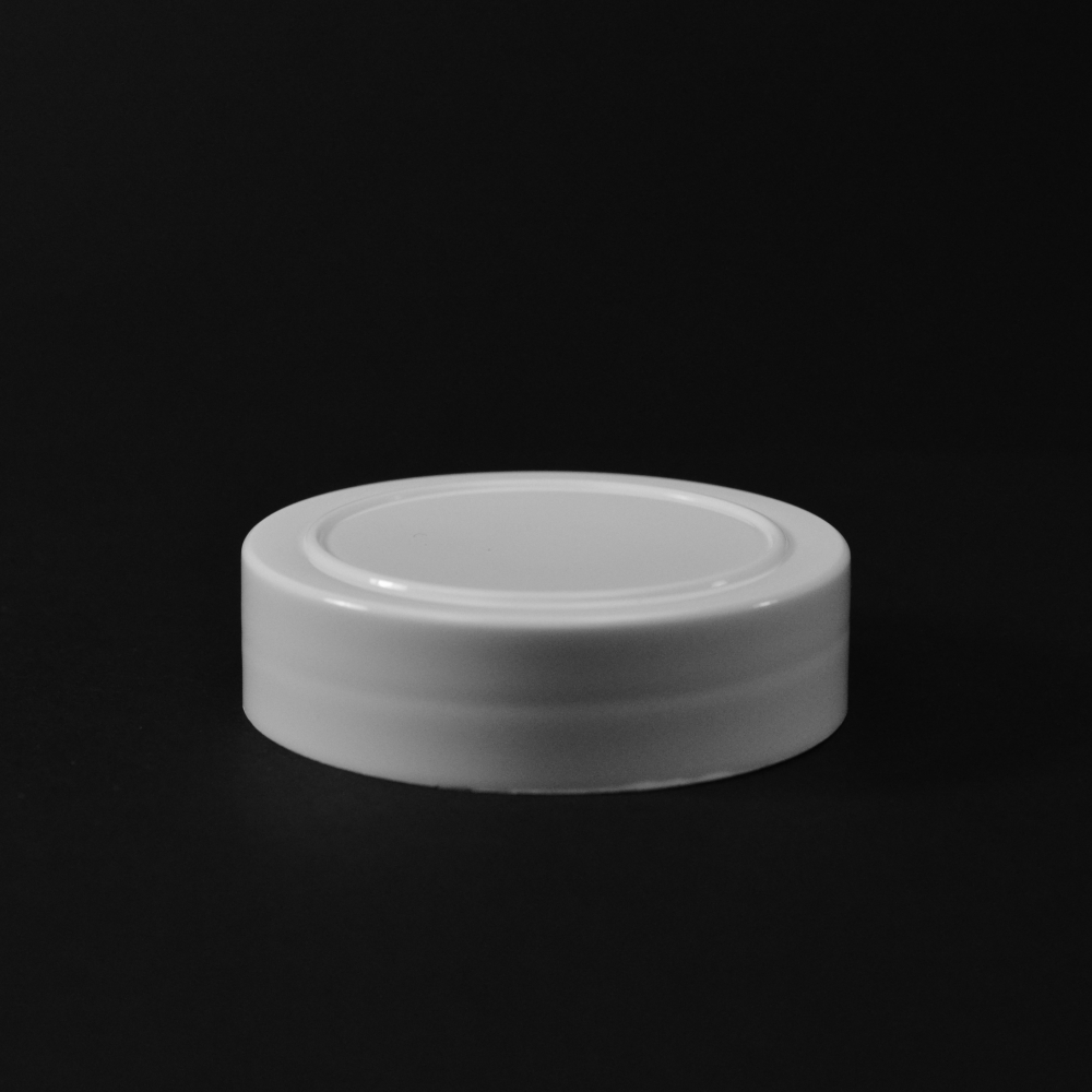 63/485 White Smooth Spice SI PP Cap