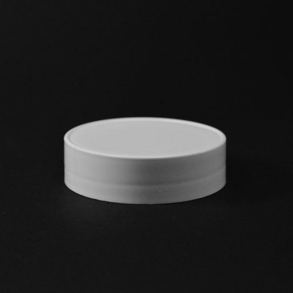 Plastic Spice Cap CT Smooth White PP 63-485 SO_2640