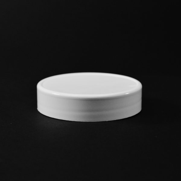 Plastic Spice Cap CT Smooth White PP 70-450 GG_2641