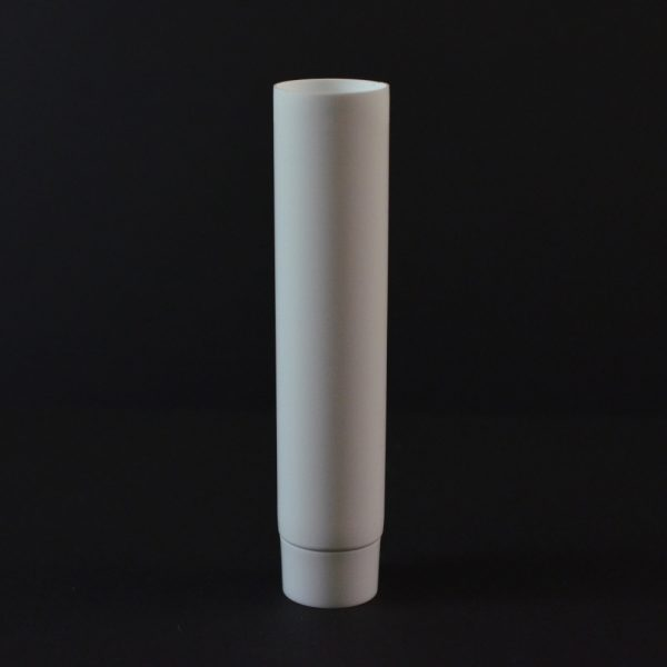 Plastic Tube 0.5 oz. Collapsible White Smooth Cap MDPE_2930