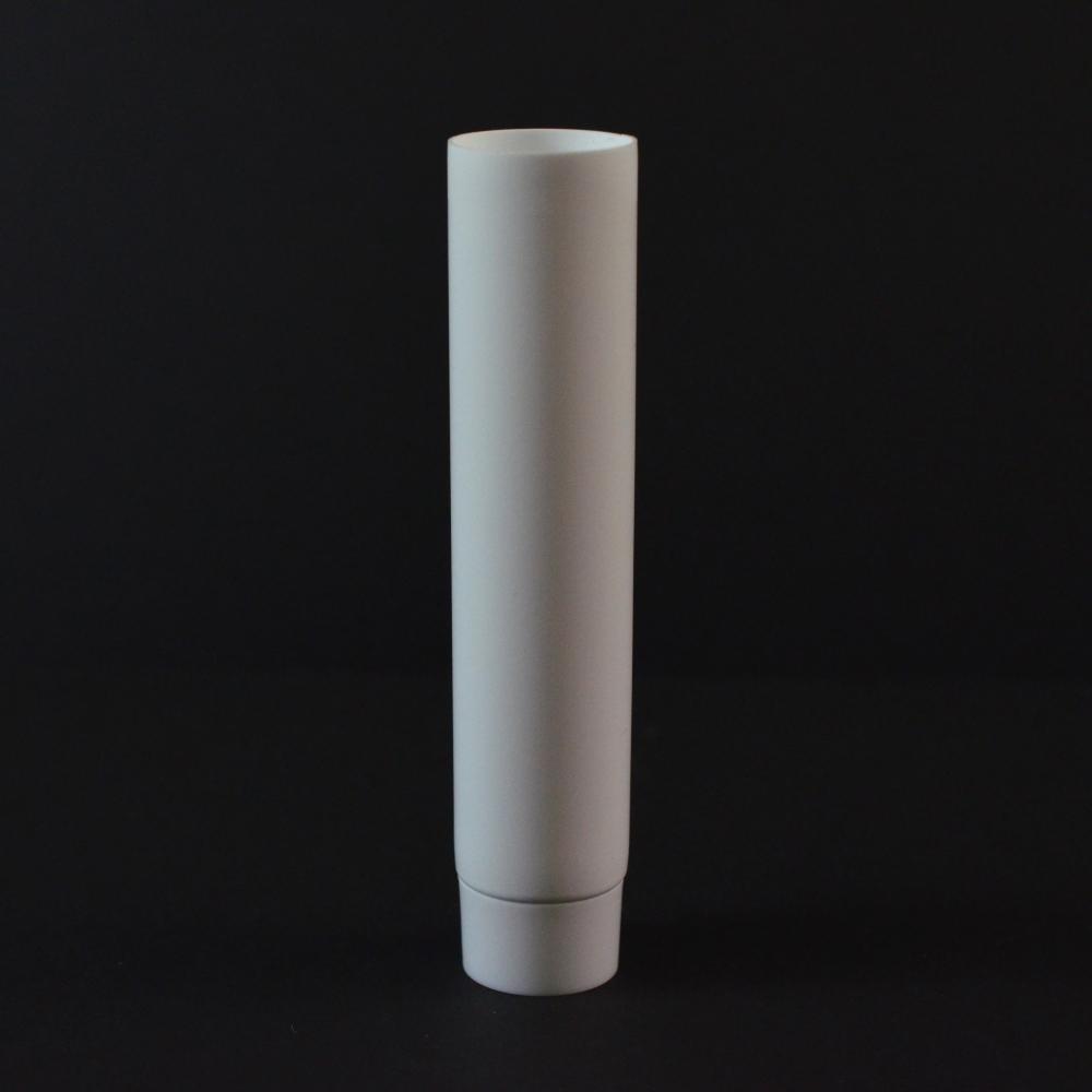 1/2 oz White MDPE Tube 3/4 X 3 1/8 with White Smooth Cap