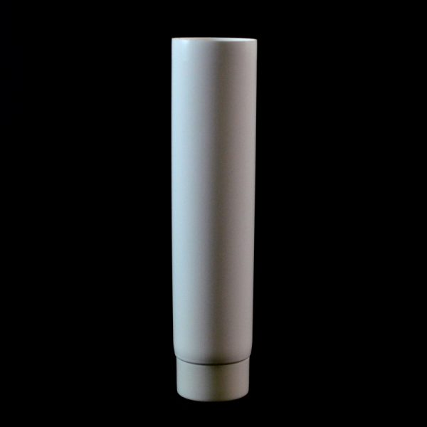Plastic Tube 2 oz. Collapsible White Smooth Cap MDPE_2934