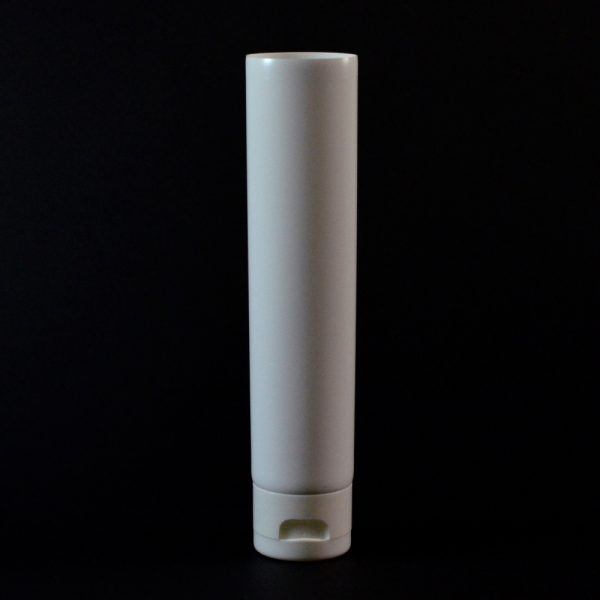 Plastic Tube 2 oz. Collapsible White Smooth FlipTop Cap MDPE_2935