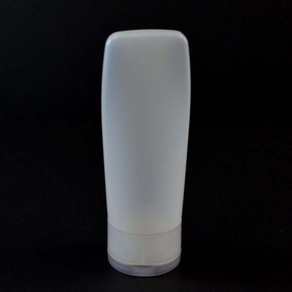Plastic Tube 2 oz. Euro Tube HDPE Natural 22-400_2941