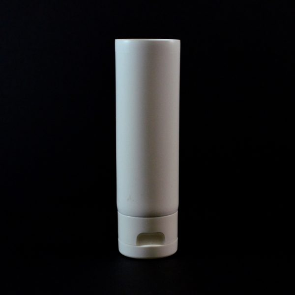 Plastic Tube 3 oz. Collapsible White Smooth FlipTop Cap MDPE_2936