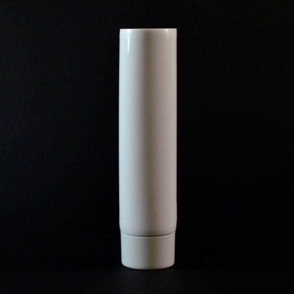 Plastic Tube 4 oz. Collapsible White Smooth Cap MDPE_2938