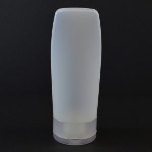 Plastic Tube 4 oz. Euro Tube HDPE Natural 22-400_2943