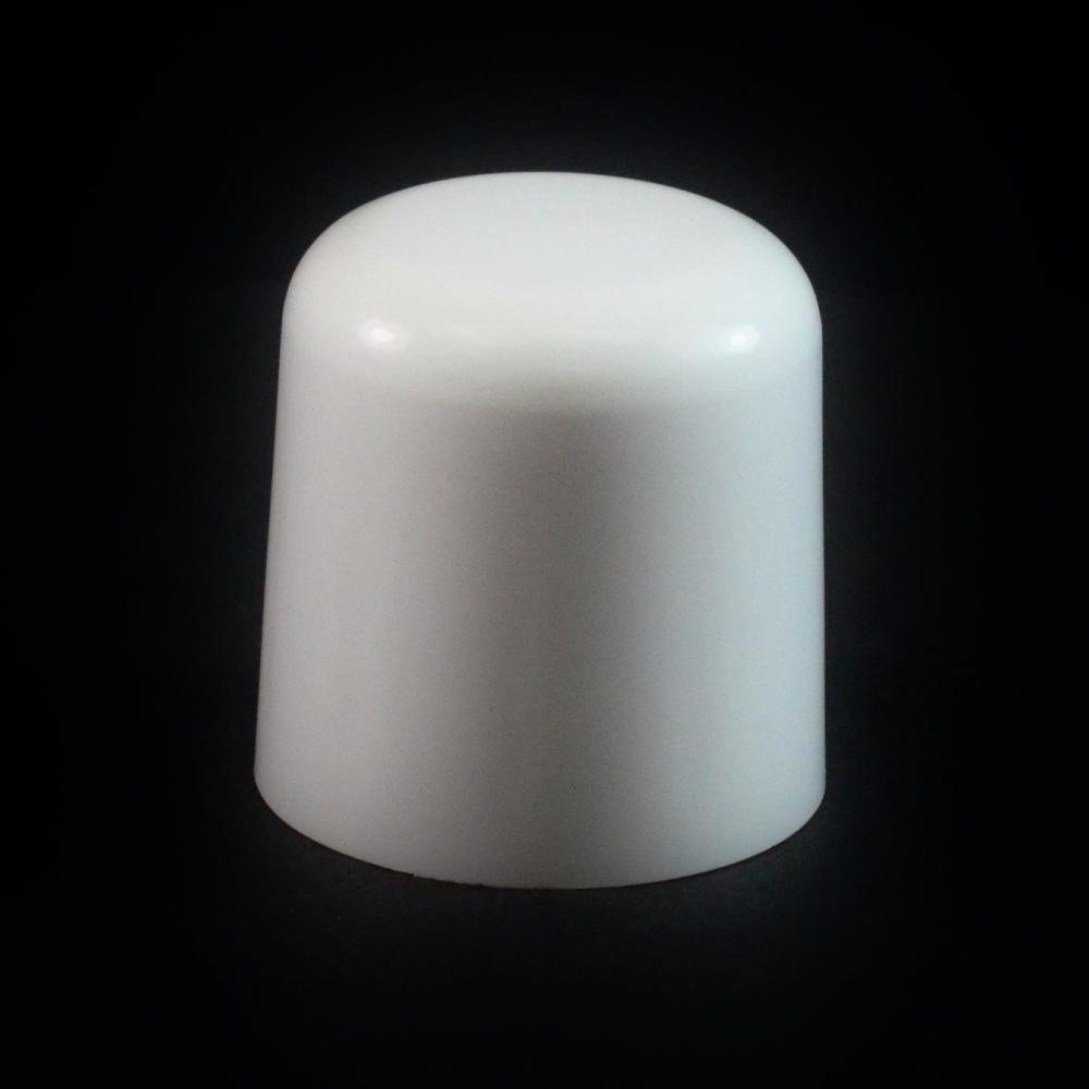 24/410 White Soft Shoulder Symmetrical Cap to 2 oz #213