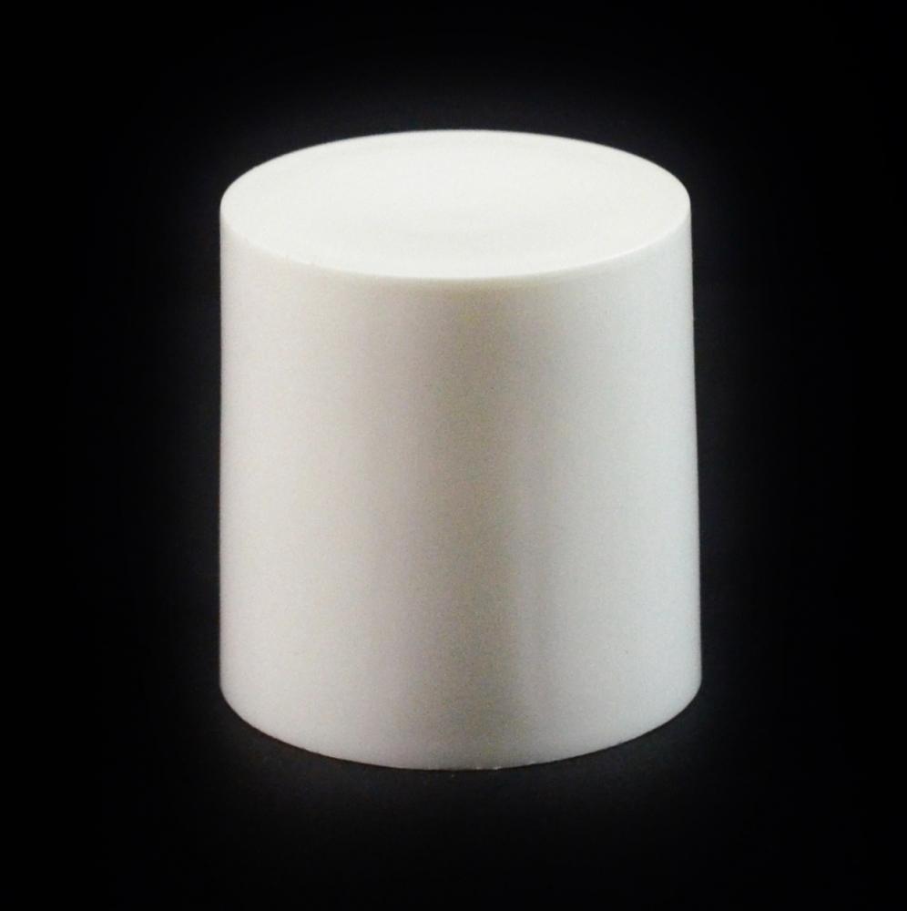 24/410 White Flat Symmetrical Cap to 2 oz #223