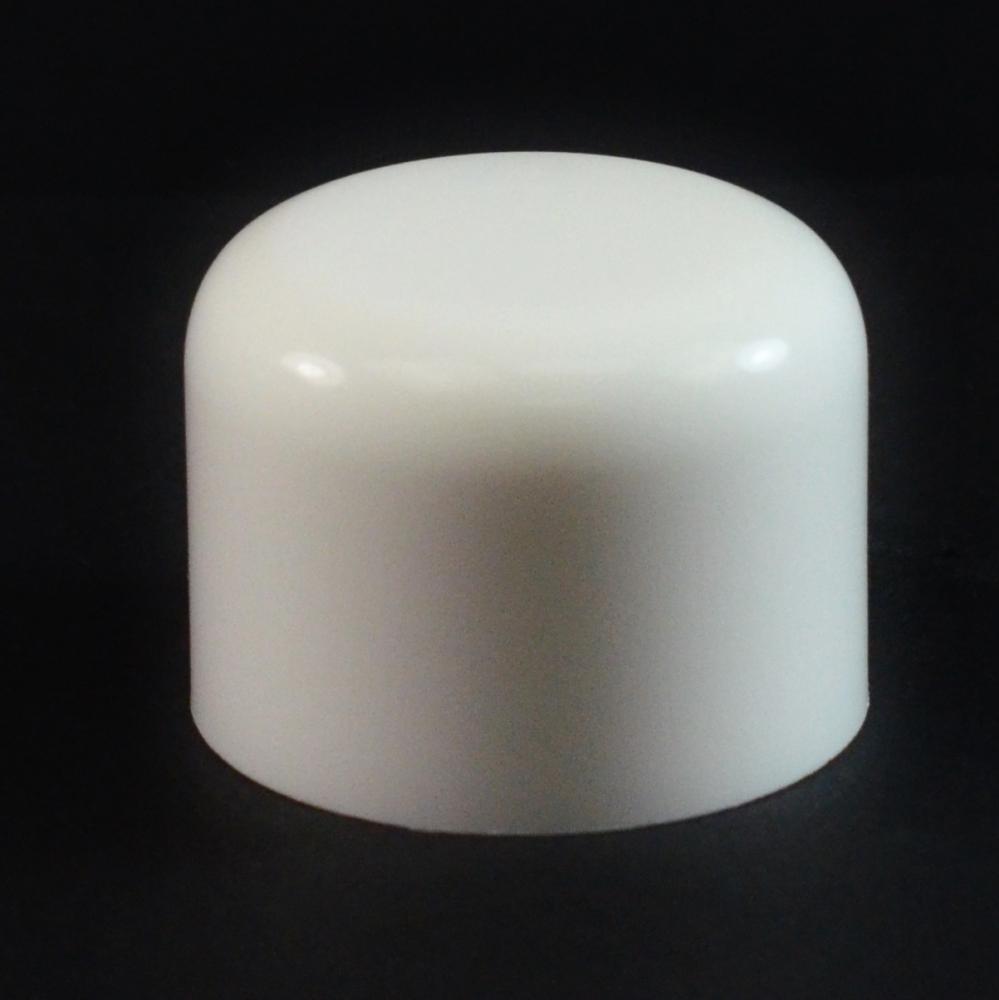 24/410 White Soft Shoulder Symmetrical Cap to 4 oz #215