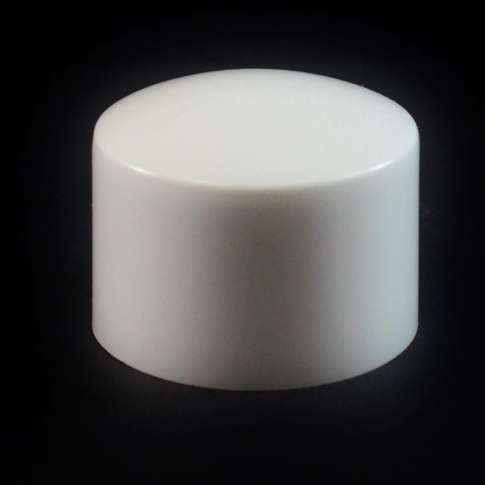24/410 White Convex Symmetrical Cap to 8 oz #200