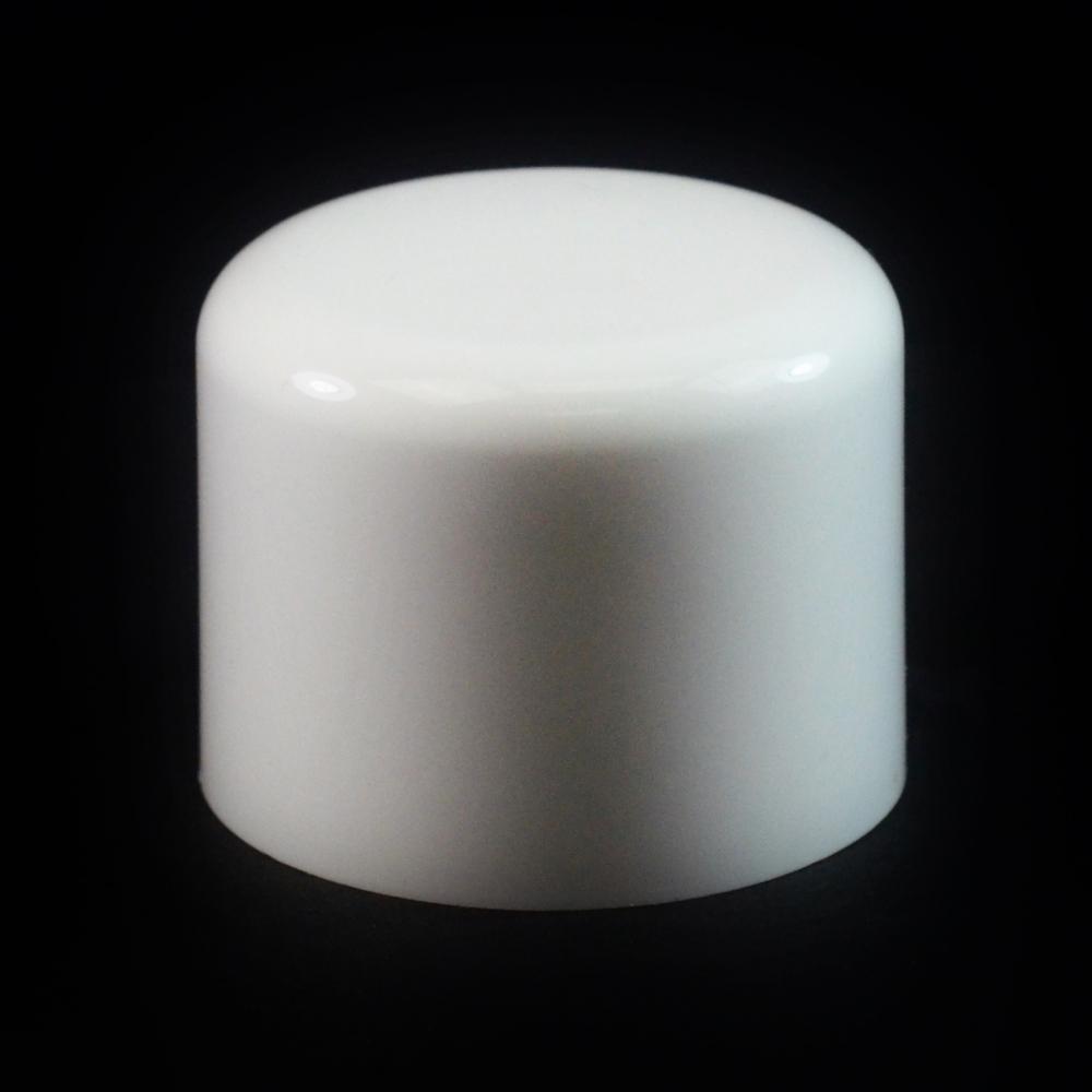 24/410 White Soft Shoulder Symmetrical Cap to 8 oz #207