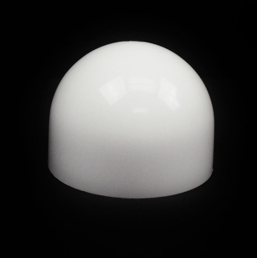24/410 White Dome Symmetrical Cap to 8 oz #208