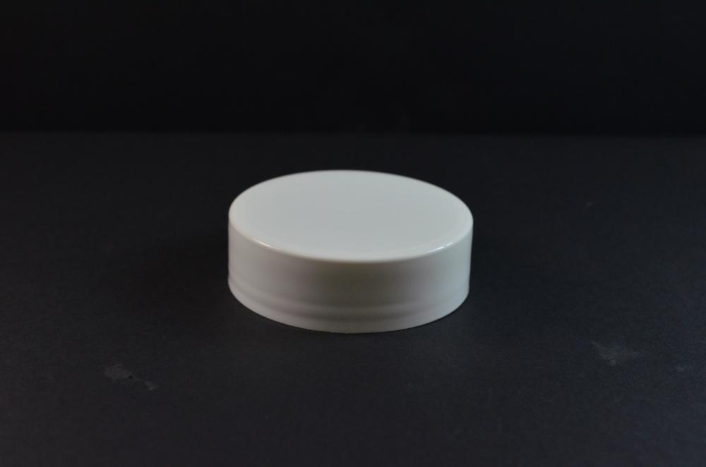 70/400 White Flat Extra Tall Symmetrical Cap