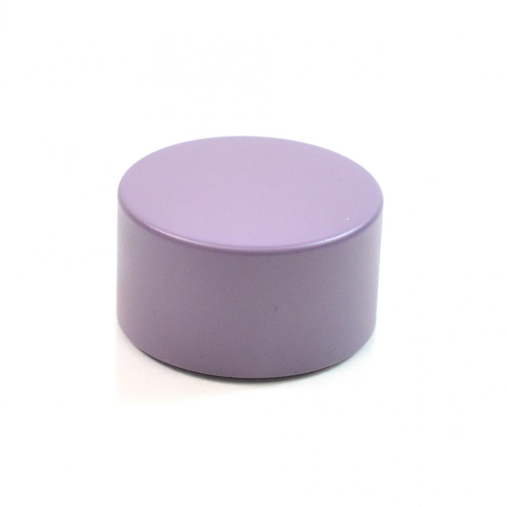 22/400 Purple Metal Overshell Tube Cap 1.5 x .800