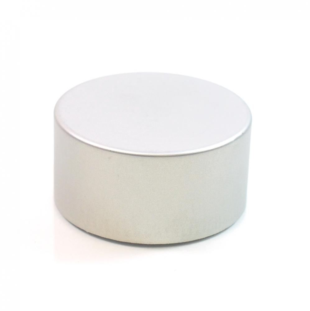 22/400 Silver Metal Overshell Tube Cap 1.9 x .950