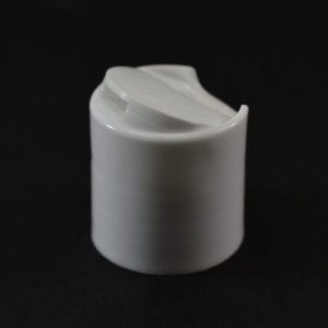 24-410 White Smooth Disc Closures